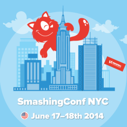 A few takeaways from last month's Smashing Conference in NYC thumnail