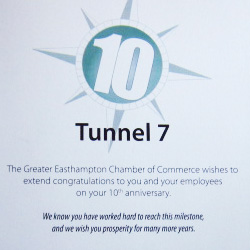 Chamber Board And 10 Years In Business Recognition thumnail